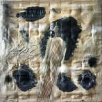"Vasile Tolan - ""Metamorfosi"", 50 x 50 cm., tecnica mista, 2014."