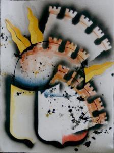Stemma di Bergamo (Variation 2)  50x60